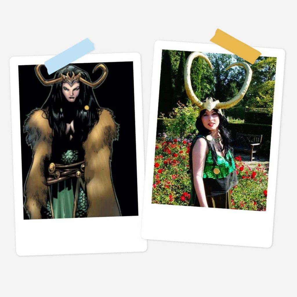 Lady Loki - Marvel Comics - (selfmade)