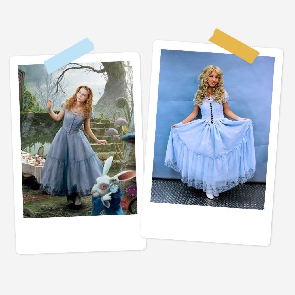 Alice - Alice in Wonderland 2010 - Film - Retired Costume (selfmade)
