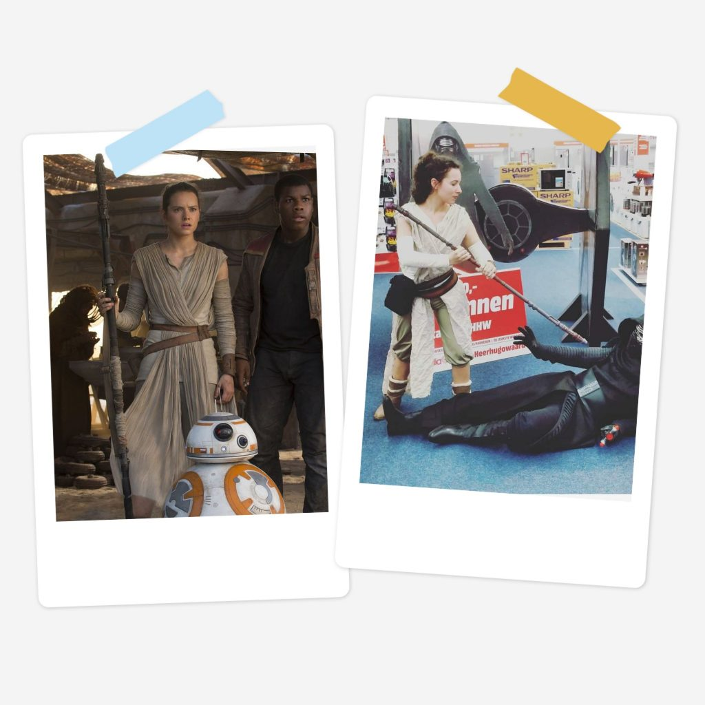 Rey - Star Wars -Film - Retired Costume (selfmade)