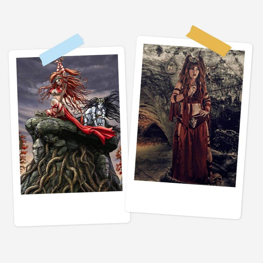 Dracena/Dracenia - Zang Der Elfen - Comicbook - Worn for DBB/Rian