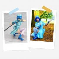 Ryomou Shimei (Blue Nurse Statue Version) - Anime -  Retired Costume (selfmade)