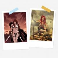 Red Sonja - Red Sonja - Comicbook - Worn for DBB/Rian